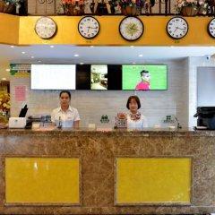 Отель GreenTree Inn ShanXi Xi'An Longshouyuan Metro Station Express Hotel Китай, Сиань - отзывы, цены и фото номеров - забронировать отель GreenTree Inn ShanXi Xi'An Longshouyuan Metro Station Express Hotel онлайн интерьер отеля