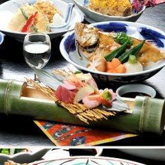 Отель Shikanocho Kokuminshukusha Sanshien Мисаса питание фото 3
