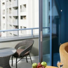 Отель Nihal Palace Дубай балкон