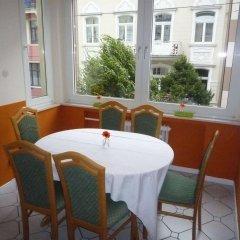 Отель Gästehaus Grupello питание