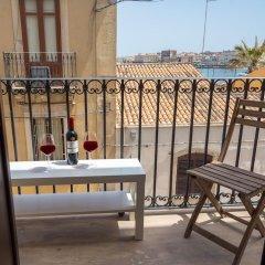 Апартаменты La Riviera apartment by Dimore in Sicily Сиракуза балкон