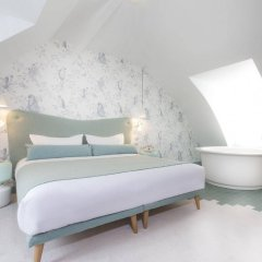 Отель Le Lapin Blanc Париж комната для гостей