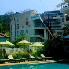 Отель Di Pantai Boutique Beach Resort бассейн фото 3