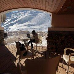 Отель Le Chalet du Mont Vallon Spa Resort балкон