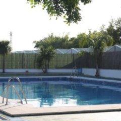 Отель Camping-Bungalows El Faro Испания, Кониль-де-ла-Фронтера - отзывы, цены и фото номеров - забронировать отель Camping-Bungalows El Faro онлайн бассейн фото 3