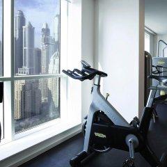 Отель Pullman Dubai Jumeirah Lakes Towers фитнесс-зал фото 2