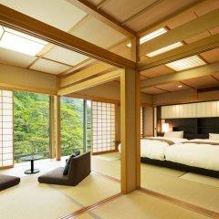 Отель Hoshino Resorts KAI Nikko Никко комната для гостей
