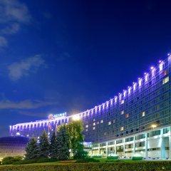 Гостиница Azimut Moscow Olympic вид на фасад