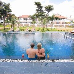 Отель Hoian Sincerity Hotel & Spa Вьетнам, Хойан - отзывы, цены и фото номеров - забронировать отель Hoian Sincerity Hotel & Spa онлайн бассейн фото 2