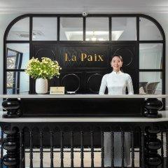 Отель La Paix Hotel Вьетнам, Ханой - отзывы, цены и фото номеров - забронировать отель La Paix Hotel онлайн интерьер отеля