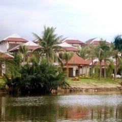 Отель Riverside Bamboo Resort Хойан приотельная территория