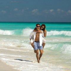 Отель Marriott Cancun Resort пляж фото 2