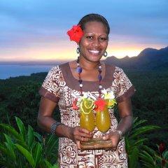 Отель Emaho Sekawa Fiji Luxury Resort Савусаву питание