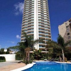 Отель Apartamentos Esmeralda Unitursa спортивное сооружение
