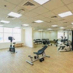 Отель Piks Key - Burj Al Nujoom Дубай фитнесс-зал