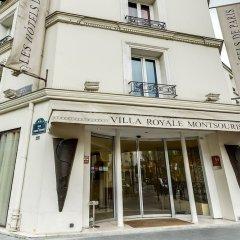 Отель Villa Royale Montsouris Париж вид на фасад