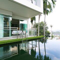 Отель Sugar Palm Grand Hillside балкон