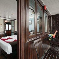 Отель Halong Carina Cruise Вьетнам, Халонг - отзывы, цены и фото номеров - забронировать отель Halong Carina Cruise онлайн балкон