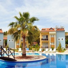 Апартаменты Hisar Garden Apartments Олудениз бассейн фото 2