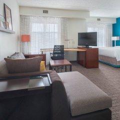 Отель Residence Inn by Marriott Newark Elizabeth/Liberty International Airpo США, Элизабет - отзывы, цены и фото номеров - забронировать отель Residence Inn by Marriott Newark Elizabeth/Liberty International Airpo онлайн комната для гостей фото 4