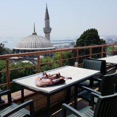 Stone Hotel Istanbul балкон