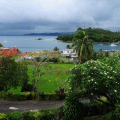 Отель Savusavu Hot Springs Hotel Фиджи, Савусаву - отзывы, цены и фото номеров - забронировать отель Savusavu Hot Springs Hotel онлайн пляж