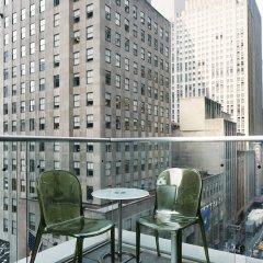 Отель The Jewel Facing Rockefeller Center США, Нью-Йорк - отзывы, цены и фото номеров - забронировать отель The Jewel Facing Rockefeller Center онлайн балкон