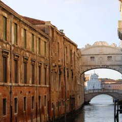 Отель Le Isole Венеция приотельная территория фото 2