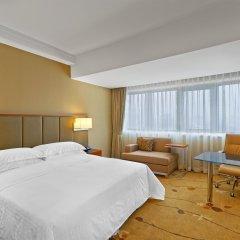 Sheraton Chengdu Lido Hotel комната для гостей фото 3