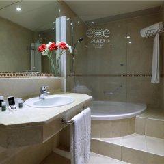 Отель Exe Plaza Испания, Мадрид - отзывы, цены и фото номеров - забронировать отель Exe Plaza онлайн ванная фото 2