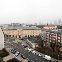Апартаменты Grand Theater Comfortable Apartment Варшава балкон