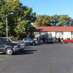 Отель Belvedere Motel США, Элкхарт - отзывы, цены и фото номеров - забронировать отель Belvedere Motel онлайн парковка