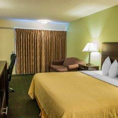 Отель Quality Inn Huntingburg комната для гостей