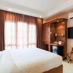 Отель Hoang Lan Hotel Вьетнам, Хошимин - отзывы, цены и фото номеров - забронировать отель Hoang Lan Hotel онлайн комната для гостей фото 3