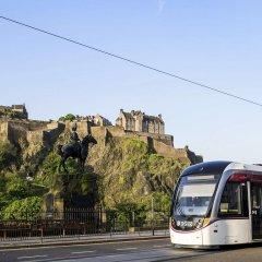 Отель Aparthotel Adagio Edinburgh Royal Mile городской автобус