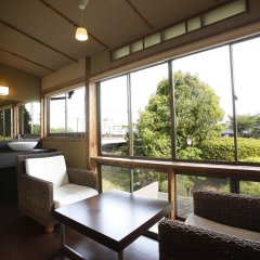 Отель Sozankyo Минамиогуни балкон