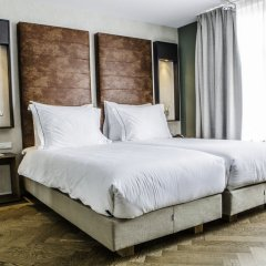 Hotel De Hallen комната для гостей фото 2