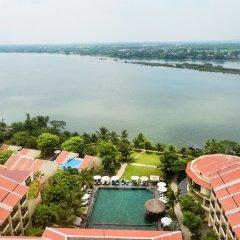 Отель Hoi An Silk Marina Resort & Spa Вьетнам, Хойан - отзывы, цены и фото номеров - забронировать отель Hoi An Silk Marina Resort & Spa онлайн пляж фото 2