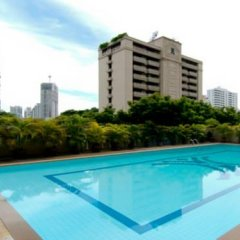 Апартаменты Orchid View Apartment Бангкок бассейн фото 3
