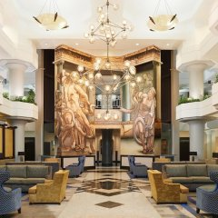 Отель Atheneum Suite Hotel США, Детройт - отзывы, цены и фото номеров - забронировать отель Atheneum Suite Hotel онлайн интерьер отеля
