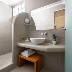 Отель Anamnesis Spa Luxury Apartments Греция, Остров Санторини - отзывы, цены и фото номеров - забронировать отель Anamnesis Spa Luxury Apartments онлайн ванная фото 2