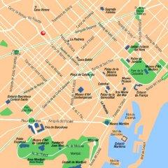 Отель Catalonia Barcelona Golf городской автобус