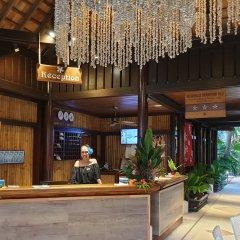 Отель Maitai Polynesia Французская Полинезия, Бора-Бора - отзывы, цены и фото номеров - забронировать отель Maitai Polynesia онлайн интерьер отеля фото 3