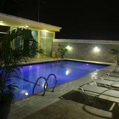 Отель Swiss International Mabisel Port Harcourt Нигерия, Порт-Харкорт - отзывы, цены и фото номеров - забронировать отель Swiss International Mabisel Port Harcourt онлайн бассейн