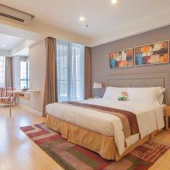 Отель Somerset Garden City Shenzhen Hotel Китай, Шэньчжэнь - отзывы, цены и фото номеров - забронировать отель Somerset Garden City Shenzhen Hotel онлайн комната для гостей фото 2