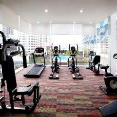 Отель Glow Pratunam Бангкок фитнесс-зал фото 3