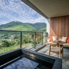 Отель ANA InterContinental Beppu Resort & Spa Япония, Беппу - отзывы, цены и фото номеров - забронировать отель ANA InterContinental Beppu Resort & Spa онлайн балкон
