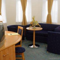 Novum Hotel Golden Park Budapest комната для гостей
