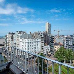 Отель Mercure Oostende Бельгия, Остенде - 1 отзыв об отеле, цены и фото номеров - забронировать отель Mercure Oostende онлайн балкон