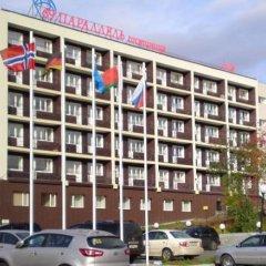 Отель 69 Parallel Мурманск парковка
